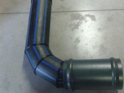 Derivazioni a TEE e a gomito per idrante in polietilene