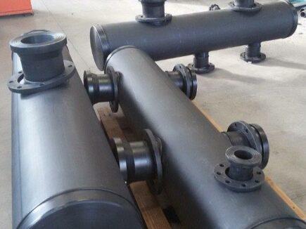 Collettori in PEAD e PVC per il trattamento delle acque